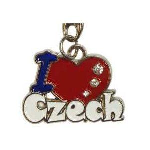 Klíčenka I Love Czech