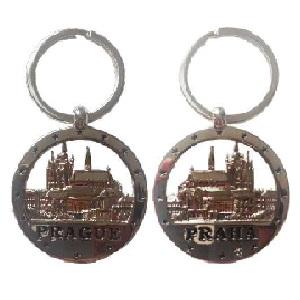 Klíčenka Praha oboustranná
