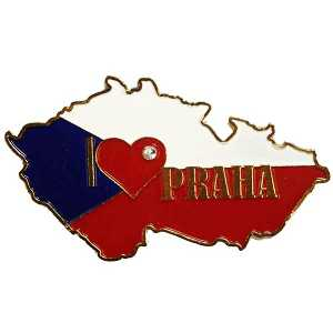 Magnetka I Love Czech