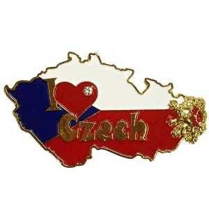 Magnetka I Love Praha