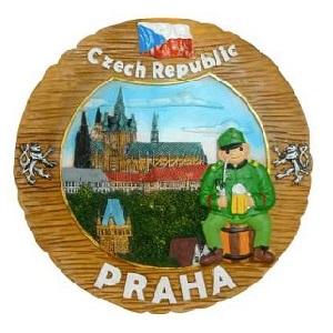 Talíř Praha Hradčany