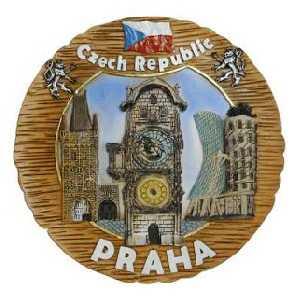 Talíř Praha Staroměstský Orloj