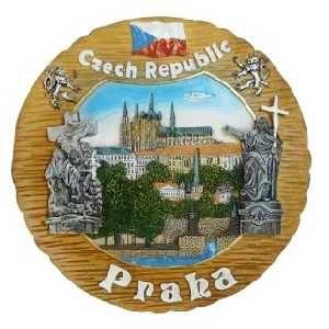 Talíř Praha Hradčany kresba