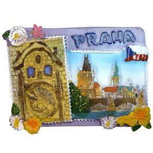 Magnetka Staroměstský Orloj + Karlův Most