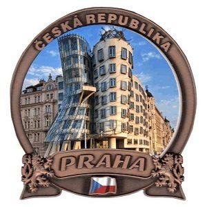 Magnetka Praha Tančící dům
