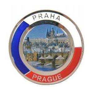 Magnetka Praha Hradčany v zimě