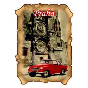 Magnetka Praha Orloj
