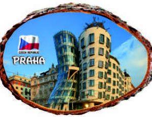 Magnetka Praha Tančící dům.