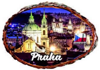 Magnetka Praha noční
