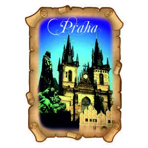 Magnetka plnobarevní Praha