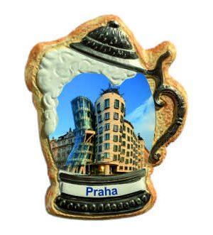 Magnetka krígel Praha Tančíců dům