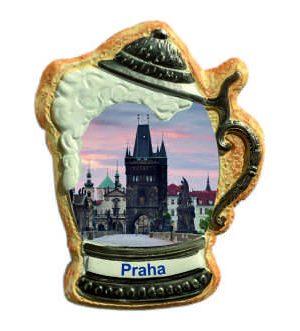 Magnetka krígel Praha Prašná brána