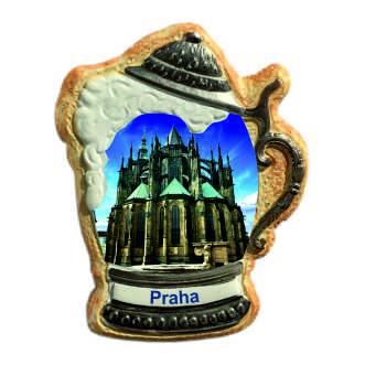 Magnetka krígel Praha Pražský hrad