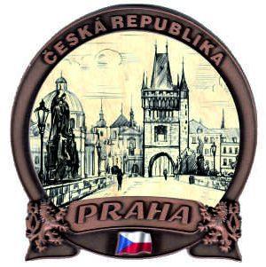 suvenýr magnetka Praha
