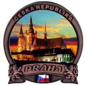 Magnetka Praha Pražský hrad